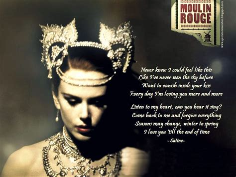 MOULIN ROUGE! [2001] | Moulin rouge, Moulin rouge quotes ...