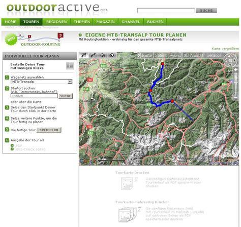 Mountain Bike Transalp – Google Maps based Route Planner ...