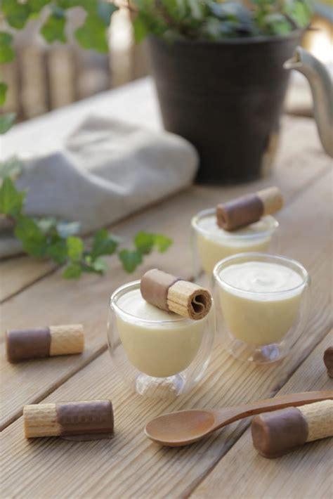 Mousse de chocolate blanco con sólo 2 ingredientes en 2020 ...