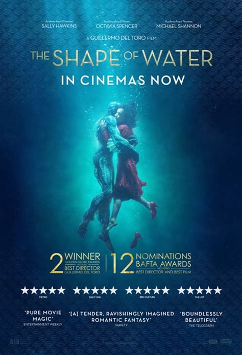 Movie poster for The Shape of Water   Flicks.co.nz