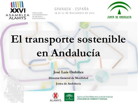 Movilidad Sostenible Andalucia