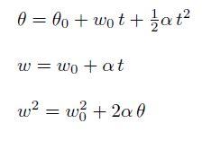 Movimiento circular uniformemente acelerado MCUA fórmulas ...