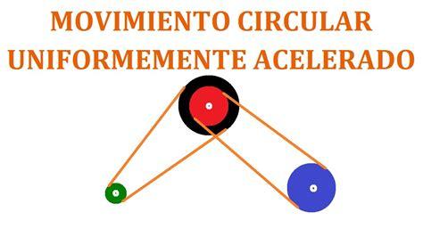 Movimiento Circular Uniformemente Acelerado  MCUA    YouTube