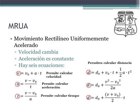Movimiento Rectilíneo 8° Año Física Matemática   ppt video ...