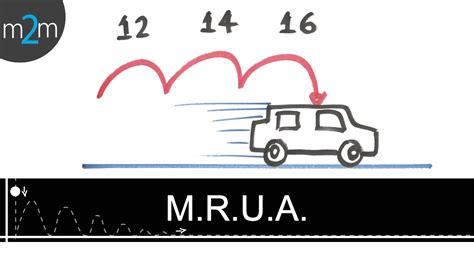 Movimiento rectilíneo uniformemente acelerado │ M.R.U.A ...