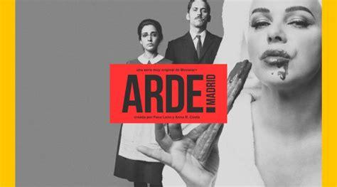 Movistar renueva  Arde Madrid : la comedia sobre Ava ...