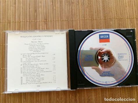 mozart, cd masonic music  musica masonica , i.   Comprar ...