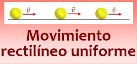MRU  MOVIMIENTO RECTILÍNEO UNIFORME | Fisica Mecanica 12M