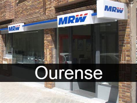 MRW en Ourense   Sucursales