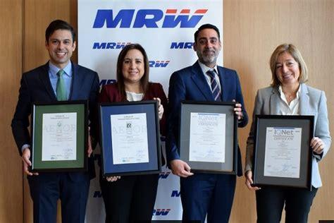 MRW premiada por su trayectoria en los eAwards de ...