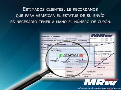 MRW Venezuela on Twitter:  @djdaniiO este número aparece ...