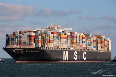 MSC CAMILLE, Container Ship   Details and current position ...