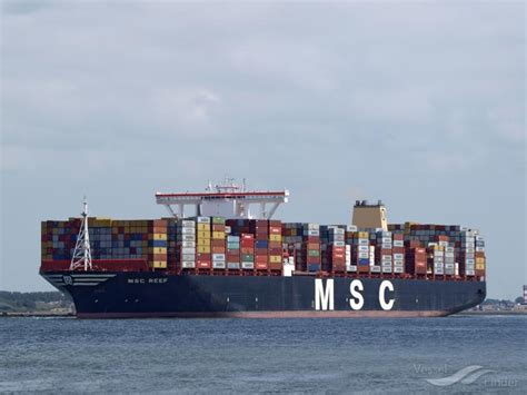 MSC REEF, Container Ship   Details and current position ...