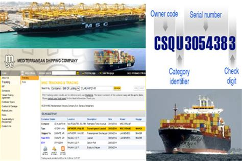 MSC Tracking   Online MSC Container Track & Trace Status