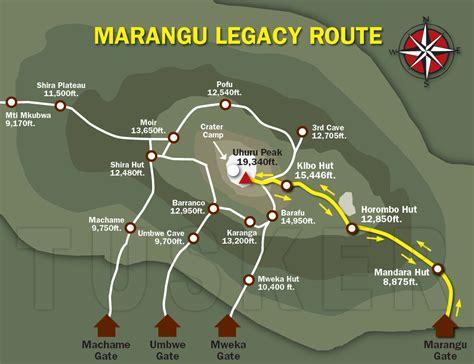 Mt Kilimanjaro Climbing Routes Compared | Tusker Geographica