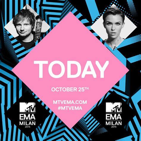MTV EMAs 2015 Milán HOY!   ErMusicTV / Canal de Música ...