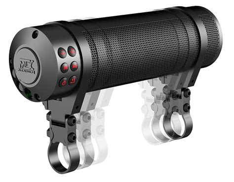 MUDHSB B Universal Bluetooth Motorcycle Handlerbar Sound ...
