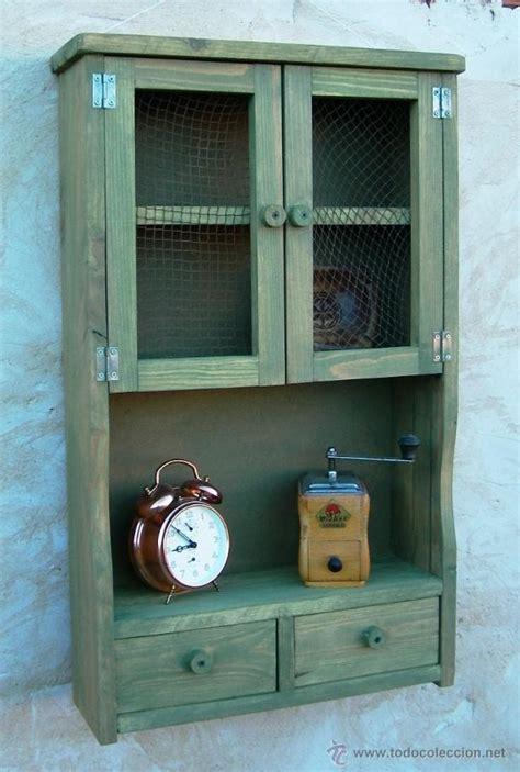 mueble alacena de madera , verde vintage, mue36   Comprar ...