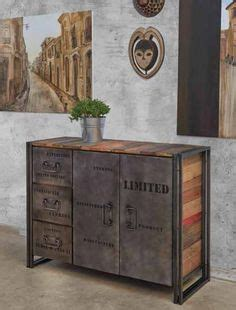 Mueble Aparador cerrado de estilo Industrial EDITO. Diseño ...