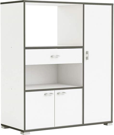 Mueble auxiliar cocina 3 puertas 1 cajón, blanco   Tu ...