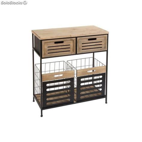 Mueble Auxiliar Cocina con Cajones 35x75x84cm Num.440099