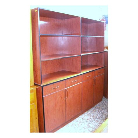 Mueble auxiliar color cerezo   Exposervi