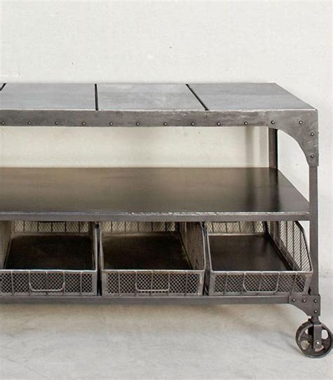 mueble auxiliar industrial con ruedas   vilmupa