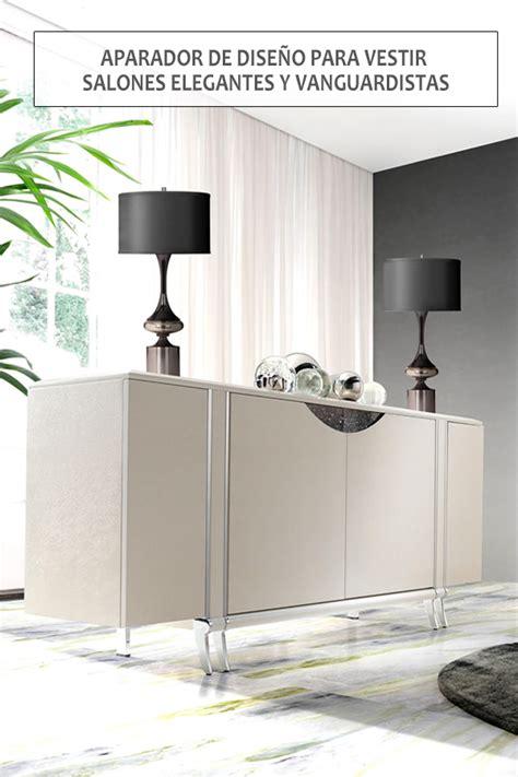 Mueble auxiliar para el salón con gran capacidad de ...