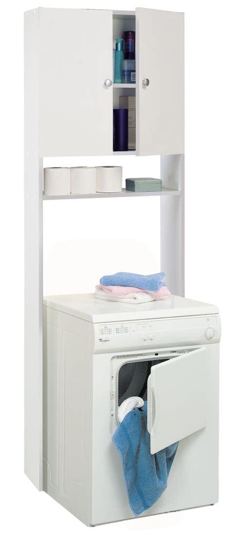 Mueble Auxiliar Para Wc Lavadora O Secadora Color Blanco ...