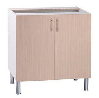 Mueble bajo fregadero BASIC fabricado en aglomerado 80 x ...