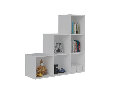 Mueble de Almacenaje Escalera Moov Blanco