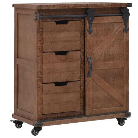 Mueble de almacenajeaderaaciza abeto 64x33,5x75cmarrón ...