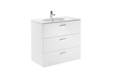 Mueble de baño base Roca Victoria Basic Unik de tres ...