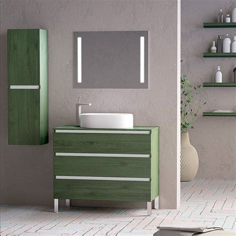 Mueble de baño Campoaras Kloe con patas 3 cajones ...
