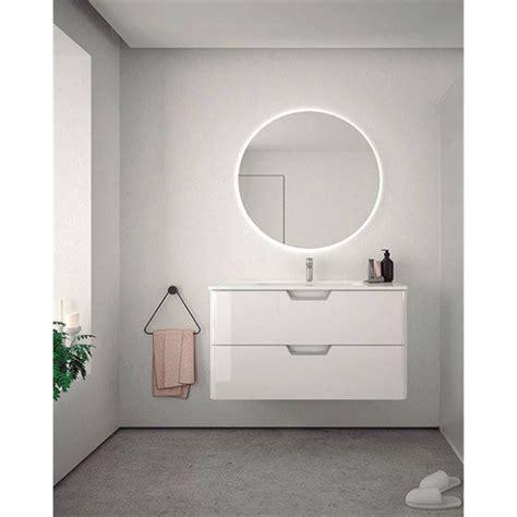 Mueble de baño con lavabo cerámico 80cm Life Royo ...