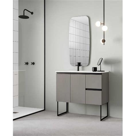 Mueble de baño con lavabo cerámico 90cm Structure Royo ...