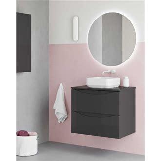Mueble de baño con lavabo cerámico sobre encimera 70cm ...