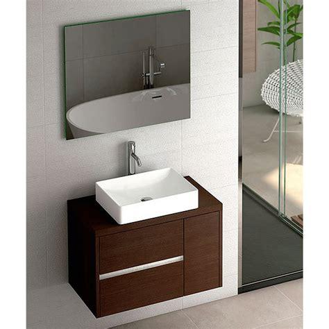 Mueble de baño de Coycama Aries suspendido con tapa para ...