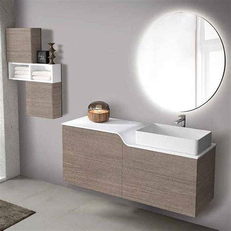 Mueble de baño de Inve Curvas suspendido con tapa Solid ...