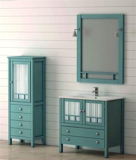 Mueble de Baño de Madera BATONI Modelo MERIDA 100 cm.
