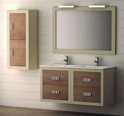 Mueble de Baño de Madera BATONI Modelo PALERMO Suspendido ...