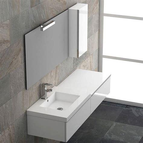 Mueble de baño Dúo I suspendido 140cm de Coycama ...