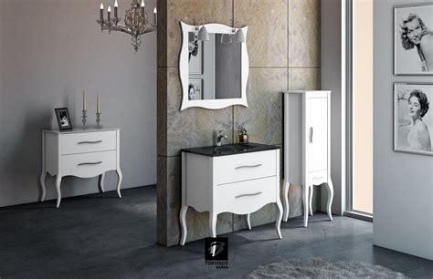 mueble de baño estilo isabelino espejo isabelino patas ...