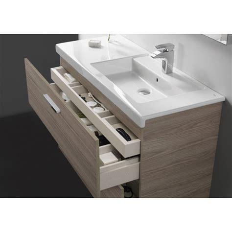 Mueble de baño + Lavabo doble Roca Prisma 4Cajones 120cm ...