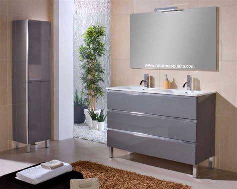 Mueble de baño MABÖ120 de doble seno  2 lavabos ...
