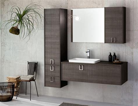 Mueble de baño modular en madera oscura | IDFdesign