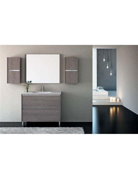 Mueble de baño para colgar Nora ~ Blanco brillo. de ...