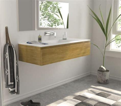 Mueble de baño Roble Macizo a medida con lavabo Corian 549 ...