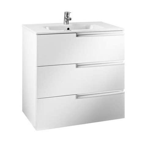 Mueble de baño Roca Victoria N Family Blanco Brillo