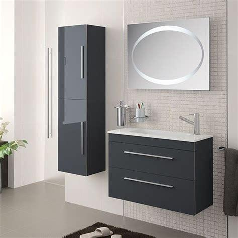 Mueble de baño SERIE 35 Salgar 60 cm gris antracita con ...